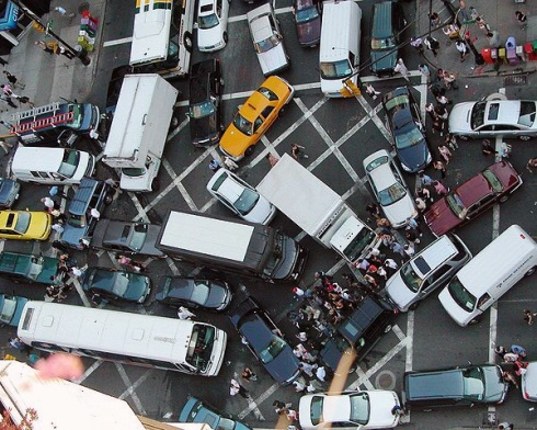 Gridlock - high band score lexis for the IELTS speaking test