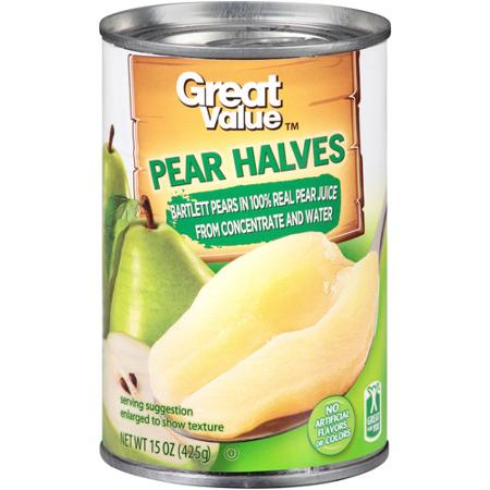 Pear halves - writing Task 1 processes
