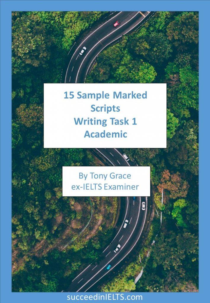 IELTS writing task 1 AC Sample scripts